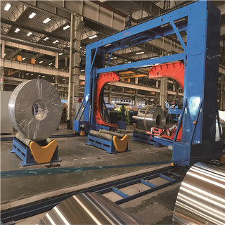 Wide coil wrapping machine(double-c type)