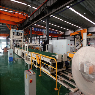 Automatic Horizontal Coil Packaging Line